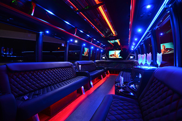 40 passenger party bus rental McKinney