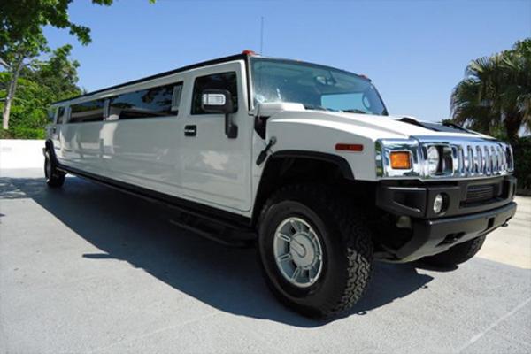 Hummer McKinney limo rental