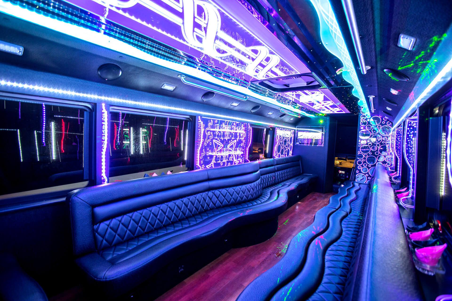 party bus McKinney rental