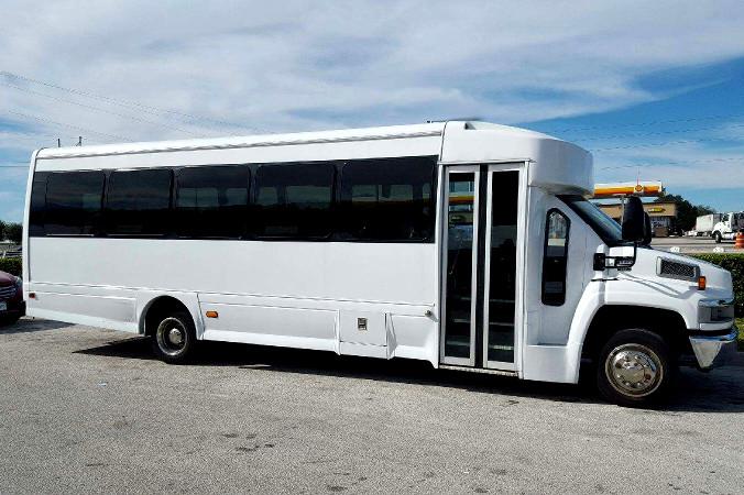 Mckinney 36 Passenger Shuttle Bus